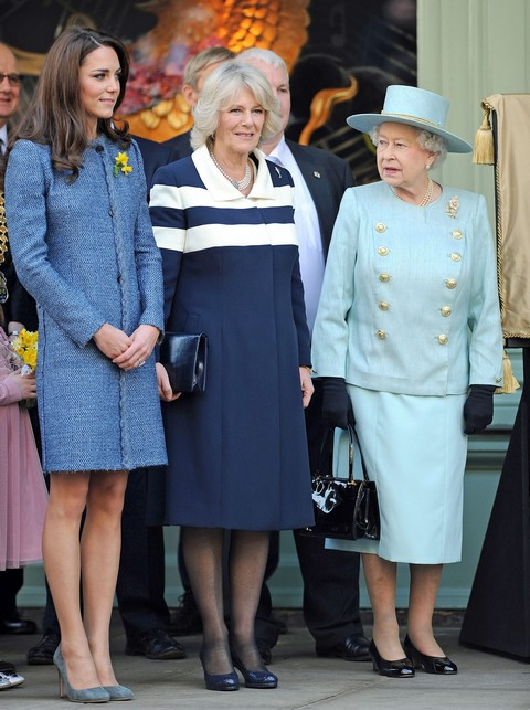 Kate Middleton Fights Queen Elizabeth Over Baby's American Nursery Furniture