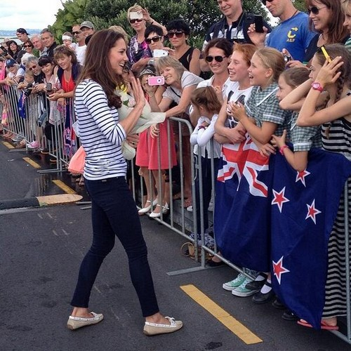 Kate Middleton New Zealand Yachting Pics With Prince William - Royal Couple Arrive In Hamilton - Stunning Photos