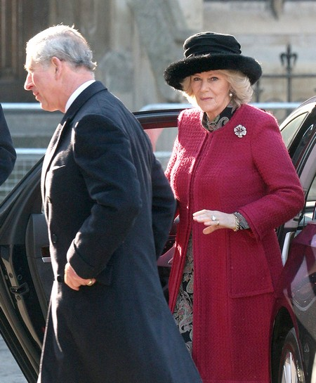 Prince Charles And Camilla Head To Westminster Abbey