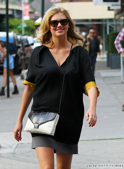 Kate Upton Pregnant After Dating Maksim Chmerkovskiy?
