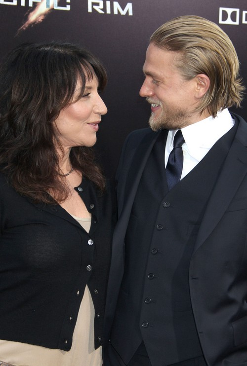 Katey Sagal Convinced Charlie Hunnam to Trust His Gut and Pull Out of Fifty Shades of Grey Movie