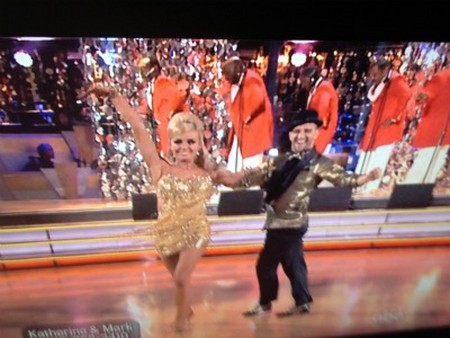 Katherine Jenkins Dancing With The Stars Rumba Performance Video 4/30/12