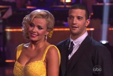 Katherine Jenkins Dancing With The Stars Paso Doble Performance Video 4/9/12