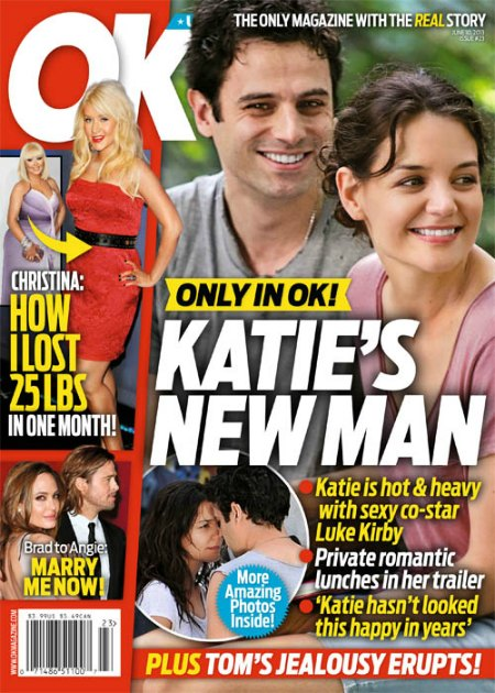 Katie Holmes' New Man Is Her Co-Star Luke Kirby (Photo)