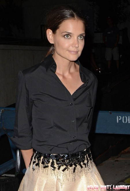 Katie Holmes Set For Dancing with the Stars - Suri Cruise Insists!