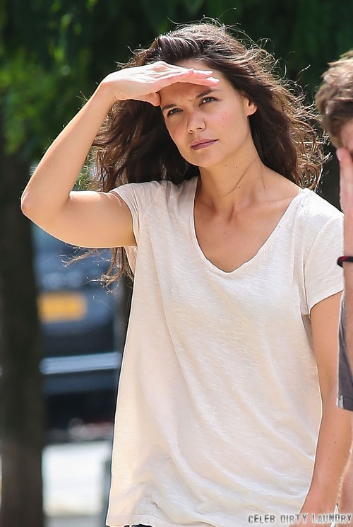 Katie Holmes Using Robin Thicke To Start Music Career