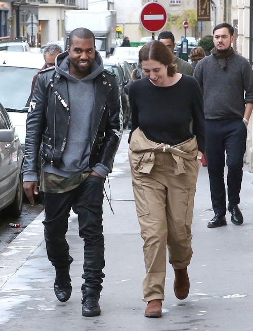 Kanye West Spotted With Mystery Woman in Paris - Dumps Kim Kardashian and Flees After Beating Defenseless18-Year-Old Boy (PHOTOS)