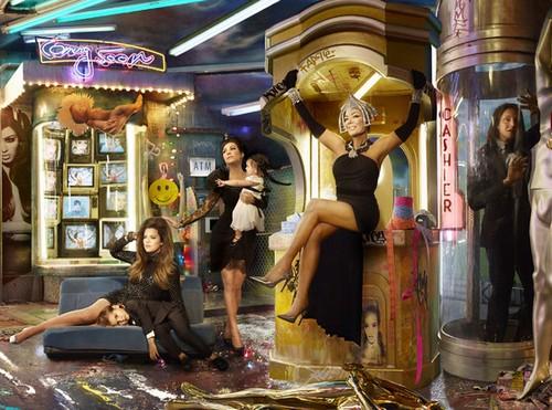 The Kardashian-Jenner Christmas Card - Family Joins Illuminati, Prepare To Be Horrified (PHOTOS)