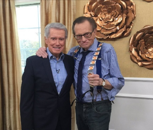 Regis Philbin Reveals Kelly Ripa Was 'Offended' When He Left
