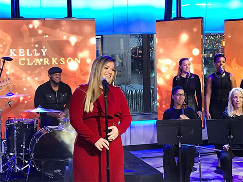 Kelly Clarkson Caught Shouting List Of Backstage Demands: Diva Lashes Out At Staff On 'Today Show' Set!