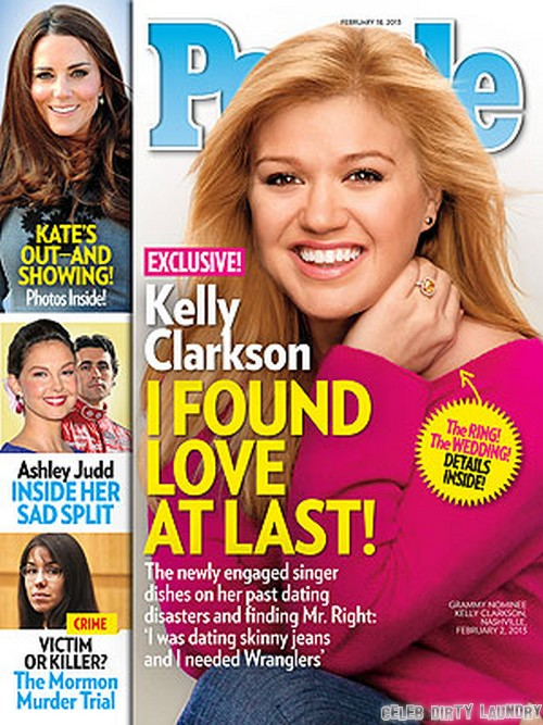 Kelly Clarkson's People Magazine Cover; Talks Finding Love