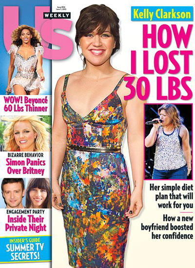 Kelly Clarkson Is Looking Skinny On The Cover Of US Weekly (Photo)
