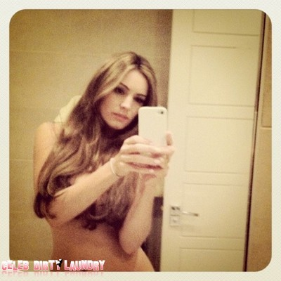 Kelly Brook Twitters Naked Picture Of Herself (Photo)