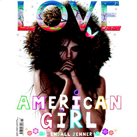 Kendall Jenner On Love Magazine Front Cover! (PHOTO)