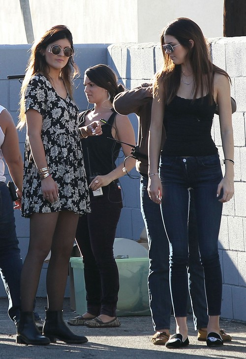 Kendall Jenner, Kim Kardashian and Khloe Playboy Centerfold Posing Pics and Photos