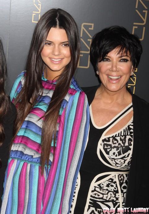 Kris Jenner Forces Kendall Jenner To Make A Sex Tape - Bruce Jenner Seeks A Restraining Order