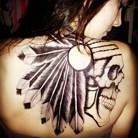 Kendall Jenner Skeleton Tattoo, Will Bad Girl Image Ruin Kardashian Career?