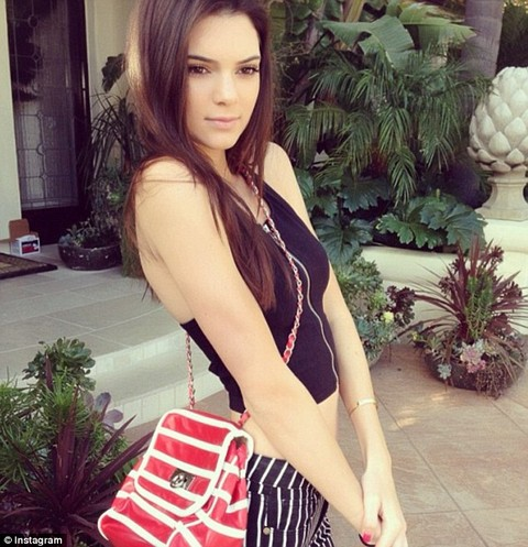 Kendall Jenner Bullied For Being Too Thin & Looking Anorexic - Blame Kris Jenner (PHOTOS)