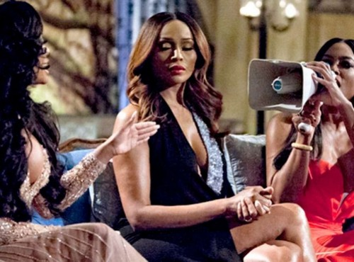 Kenya Moore Blames Porsha Williams For Real Houswives of Atlanta Brawl - Now Threatens To Quit Show