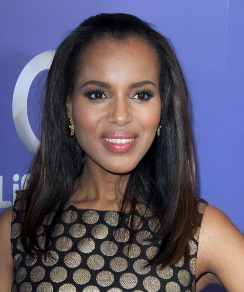 Kerry Washington Addresses Lesbian Rumors, Doesn't Mind Them