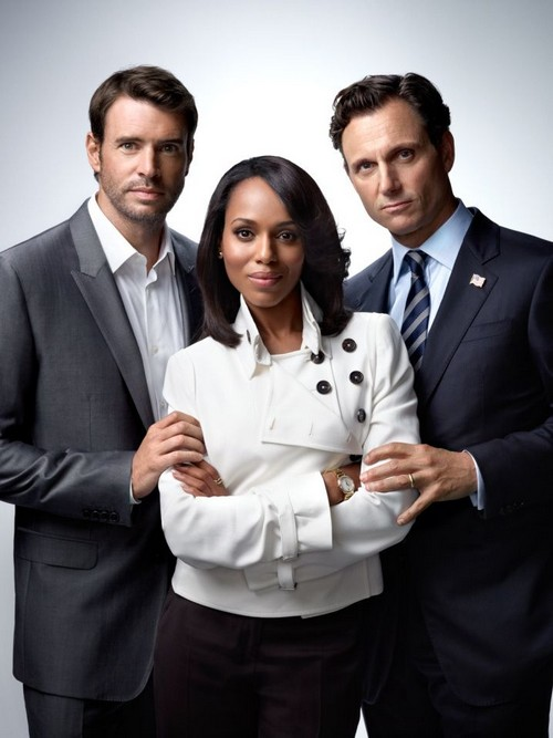 Kerry Washington and Scott Foley's Love Scenes on Scandal Panic His Wife, Marika Dominczyk - Too Much Passion