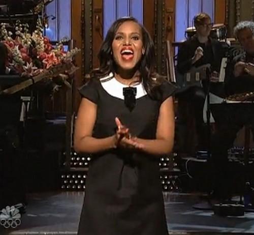 Watch Kerry Washington on Saturday Night Live - Absolutely Kills It! (VIDEOS)