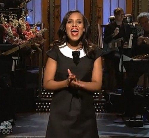 Watch Kerry Washington on Saturday Night Live - Absolutely Kills It! (VIDEOS)