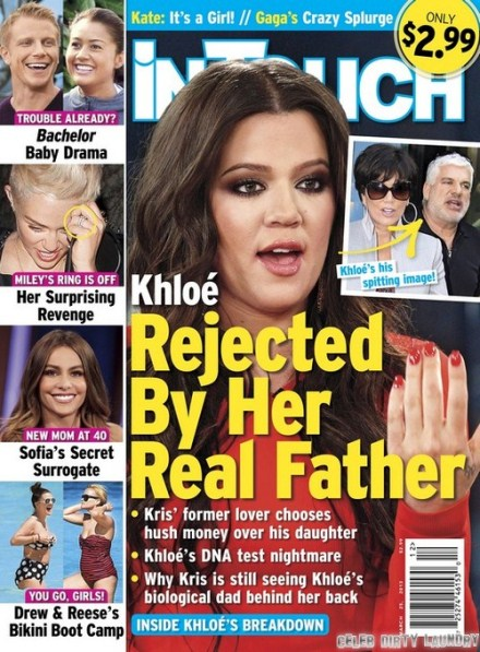Khloe Kardashian's Real Father Takes Money Over Her? (Photo)