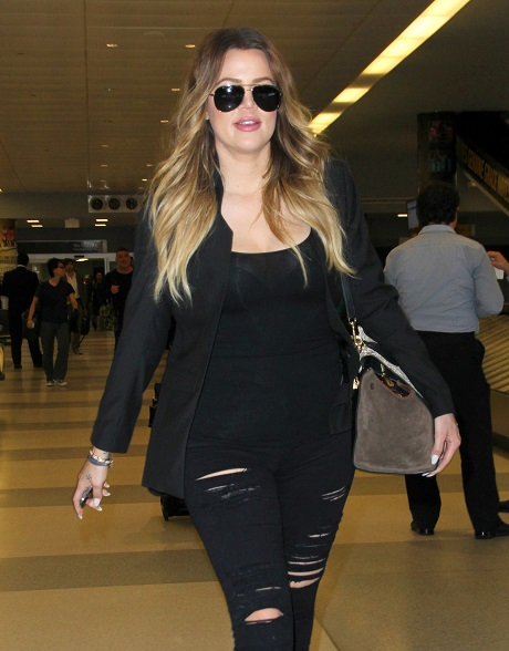 Khloe Kardashian Packs On The Pounds As Boyfriend French Montana Controls Her Diet And Life!