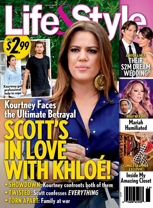 Scott Disick In Love With Khloe Kardashian: Leaving Boring Kourtney to Cheat With Younger Sister? (PHOTOS)
