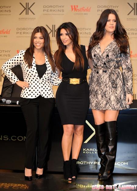 The Kardashian Kollection Launch At Dorothy Perkins