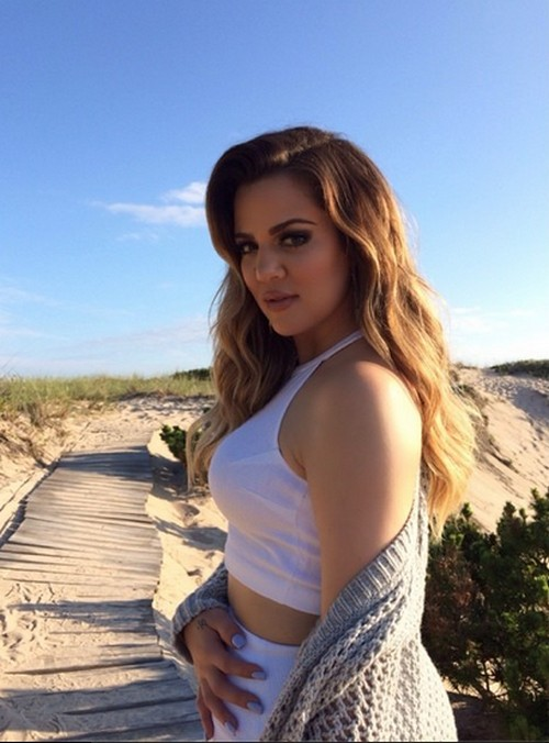 Pregnant Khloe Kardashian Baby Bump Pics With French Montana Rumors: She's Ecstatic Over Pregnancy (PHOTOS)
