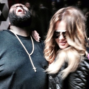 Khloe Kardashian and Rick Ross Hook Up: Rick Raps About His Desire For Khloe (PHOTOS)