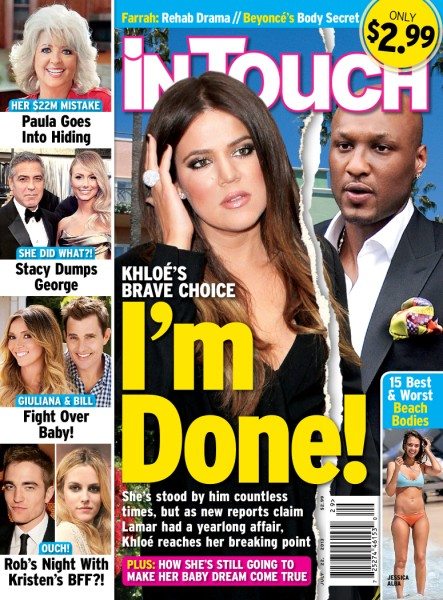 Khloe Kardashian Done With Lamar Odom Marriage After His Latest Affair, Wants Divorce! 0710