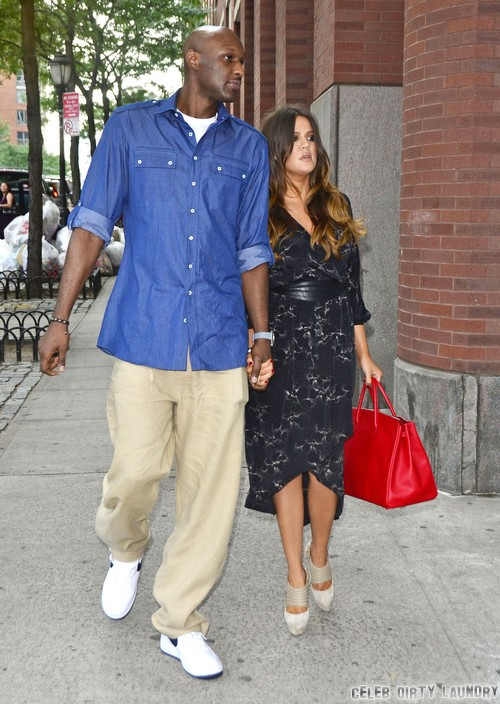 Khloe Kardashian Joins Lamar Odom For Wedding Anniversary Hookup