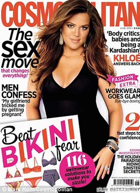 Khloe Kardashian Insults Kim And Kourtney In Cosmopolitan - Calls Them Cookie Cutter Sisters