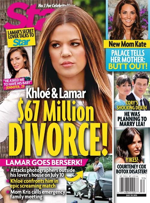Khloe Kardashian and Lamar Odom $67 Million Divorce Caused By Hooker Jennifer Richardson's Revelations (PHOTO)