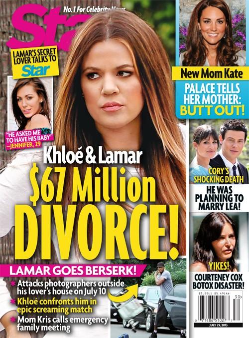Khloe Kardashian and Lamar Odom $67 Million Divorce Caused By Hooker Jennifer Richardson's Revelations (PHOTO)