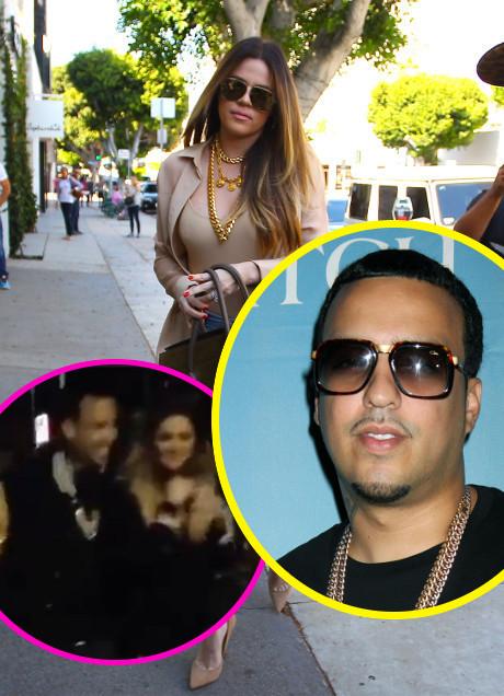 Khloe Kardashian and French Montana Enjoy Hook-Up Sleepover After Dinner With Kourtney Kardashian and Scott Disick