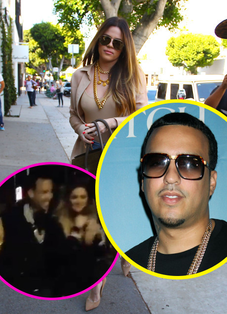 Khloe Kardashian and French Montana Enjoy Hook-Up Sleepover After Dinner With Kourtney Kardashian and Scott Disick