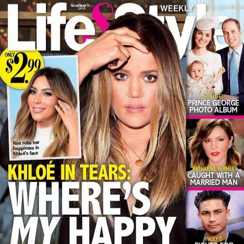 Khloe Kardashian Jealous and Bitter Over North West and Kim Kardashian's Engagement (PHOTO)