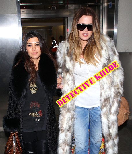 Khloe Kardashian's Jewelry Stolen From Right Under Her Nose - Dons Sleuthing Gear To Capture The Thief!