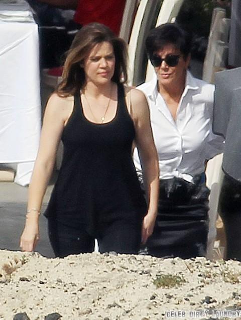Khloe and Kourtney Kardashian Try To Break Up Kim Kardashian and Kanye West - Kris Jenner Approves!