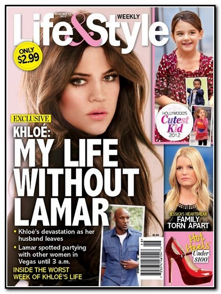 Report: Khloe Kardashian and Lamar Odom Break Up (Photo)