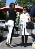 Khloe Kardashian & Kris Jenner Grab Lunch At Stanley's