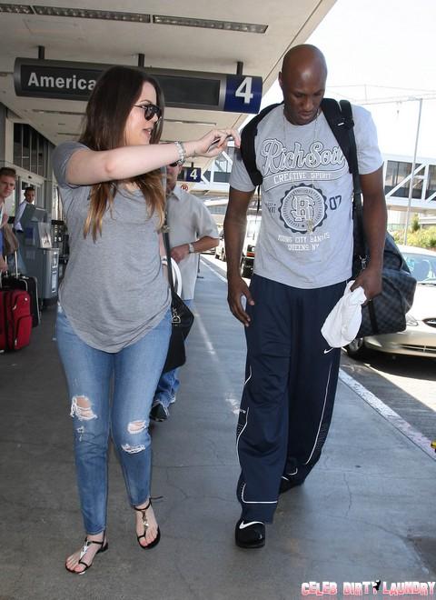 Khloe Kardashian Confesses She's Pregnant - Lamar Odom Demands Paternity Test Before Divorce