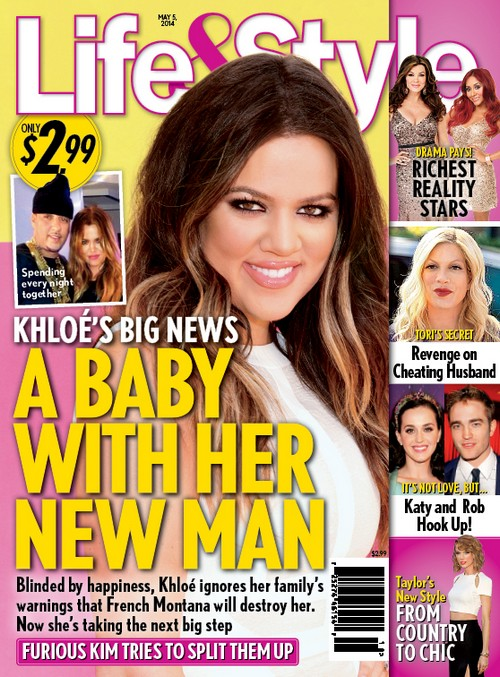 Khloe Kardashian Pregnant By New Boyfriend French Montana (PHOTO)