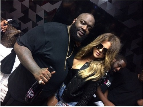 Khloe Kardashian and Rick Ross Instagram Photo Hook Up: Rick Raps About His Desire For Khloe