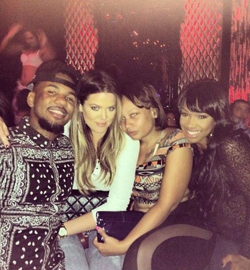 Khloe Kardashian and The Game Hook Up and Flirt at Tru Hollywood Nightclub (PHOTO)