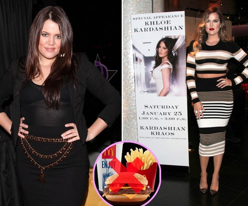 Khloe Kardashian Vows To Keep The Weight Off and Never Gain Those 40 Pounds Back (PHOTOS)